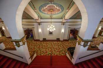 Fox Theater Bakersfield: Lobby Center Stairs