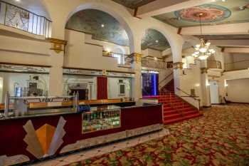 Fox Theater Bakersfield: Lobby Concessions Stand