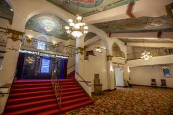 Fox Theater Bakersfield: Lobby Main Level Right