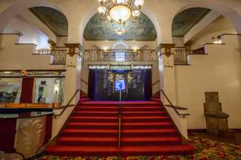 Fox Theater Bakersfield: Lobby Stairs