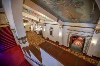 Fox Theater Bakersfield: Overlooking Lobby From Stairs