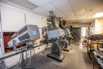 Fox Theater Bakersfield: Projection Booth From Left Side