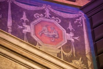 Proscenium Arch decoration closeup House Right
