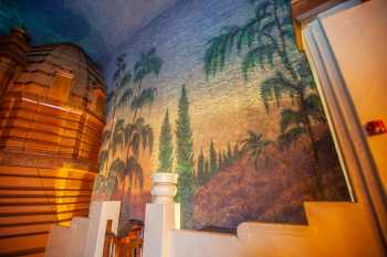 Visalia Fox Theatre: House Right Wall Mural