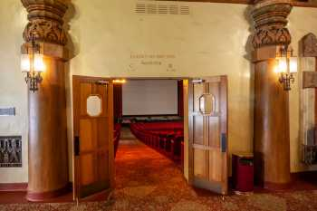 Visalia Fox Theatre: Auditorium From Lobby