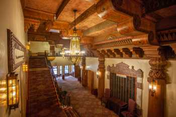 Visalia Fox Theatre: Lobby From House Right Stairs