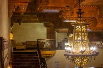 Visalia Fox Theatre: Chandelier And House Left Stairs