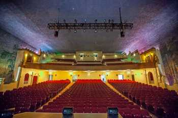 Visalia Fox Theatre: Auditorium From Stage Center