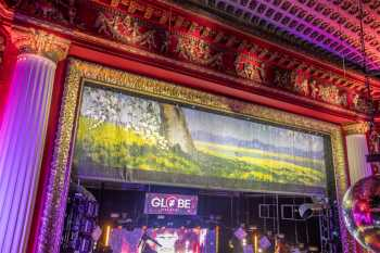 Globe Theatre, Los Angeles: Closeup of Fire Curtain