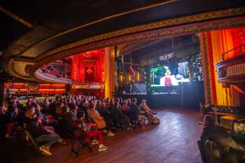 Globe Theatre, Los Angeles: Screening as seen from Orchestra Right
