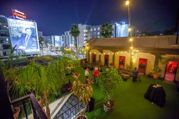 Hollywood Boulevard Entertainment District: Fonda Theatre: Party on Roof Terrace