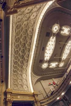 Hudson Theatre, New York: Sounding Board from below