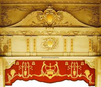 King's Theatre, Edinburgh: Composite photo of Proscenium Arch and House Border