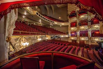 King's Theatre, Edinburgh: Auditorium from Grand Circle Boxes