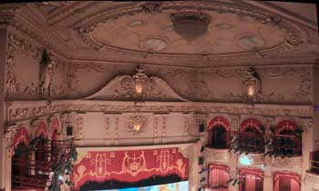 King's Theatre, Edinburgh: Auditorium ceiling (2008)