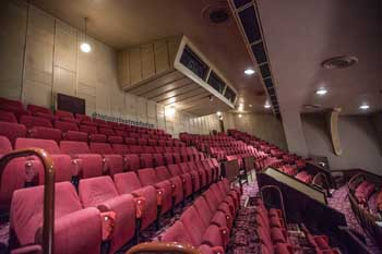 King's Theatre, Edinburgh: Upper Circle rear and Followspot Box