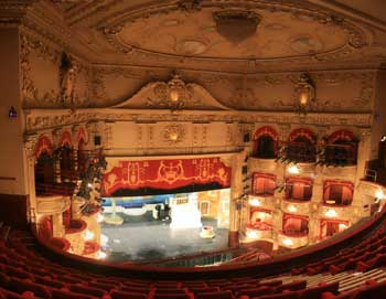 King's Theatre, Edinburgh: View from Upper Circle prior to Dome repainting