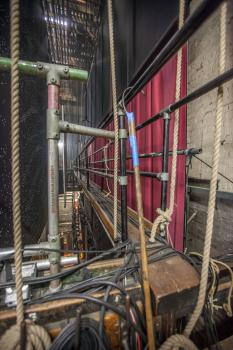 King's Theatre, Edinburgh: Bridge access from Stage Right Fly Floor