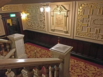 King's Theatre, Edinburgh: Foundation Stone On Stairwell Landing