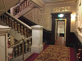 King's Theatre, Edinburgh: Stairs between Lobby and Grand Circle bar