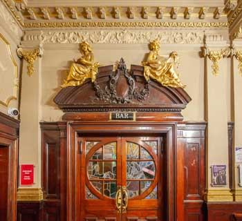 King's Theatre, Edinburgh: Grand Circle Bar Doors