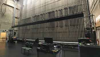 Los Angeles Music Center: Lock Rail from Downstage Left