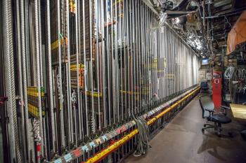 Los Angeles Music Center: Lock Rail from Downstage Right