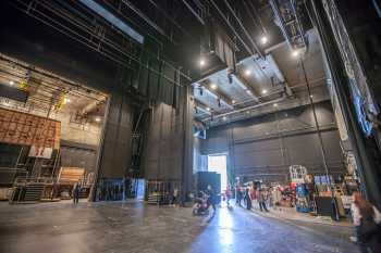 Los Angeles Music Center: Scene Docks Stage Left and Upstage from Stage