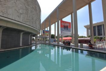 Los Angeles Music Center: Taper and Reflecting Pool with Plaza