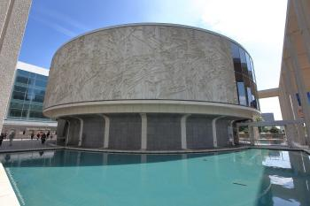 Los Angeles Music Center: Taper and Reflecting Pool