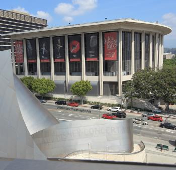 Los Angeles Music Center: Dorothy Chandler Pavilion from Concert Hall