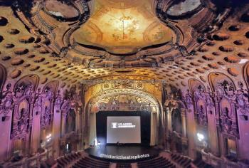 Los Angeles Theatre: Auditorium Center from Balcony