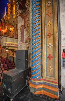Proscenium Arch Stage Right