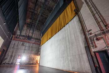Fire Curtain Reverse Side From Stage