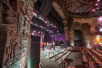 The Mayan, Los Angeles: Auditorium from Stage Right