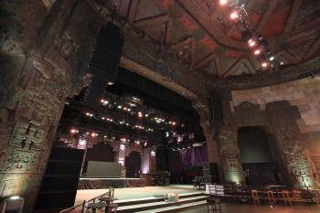 The Mayan, Los Angeles: Stage from Auditorium Left
