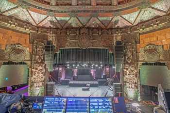 The Mayan, Los Angeles: Lighting Control