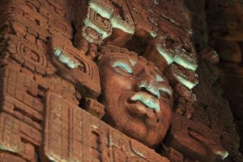 The Mayan, Los Angeles: God Sculpture detail