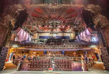 The Mayan, Los Angeles: Center Stage view of auditorium