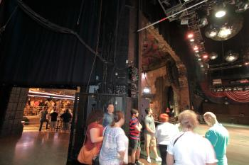 The Mayan, Los Angeles: Stage Left showing rear of sidestage
