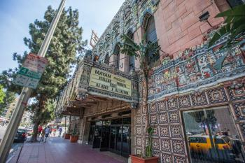 The Mayan, Los Angeles: Exterior from sidewalk