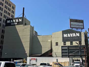 The Mayan, Los Angeles: tagehouse