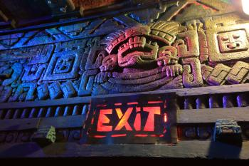 The Mayan, Los Angeles: Lobby Exit Sign