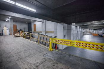 Loading Dock vehicle pull-up area