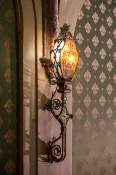 Balcony wall sconce