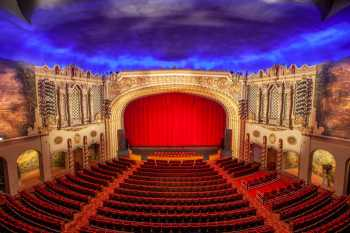 Orpheum Theatre, Phoenix: Auditorium from Balcony Center
