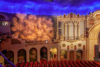 Orpheum Theatre, Phoenix: House Left side wall