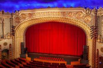 Orpheum Theatre, Phoenix: Proscenium Closeup from Balcony
