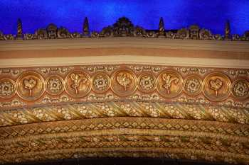 Orpheum Theatre, Phoenix: Proscenium Center Closeup