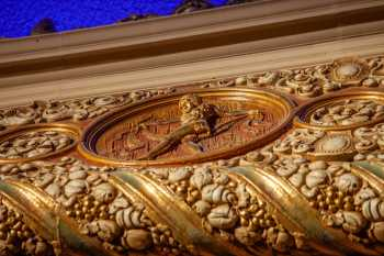 Medallion Closeup on Proscenium